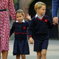 Printesa Charlotte este fericita ca incepe scoala
