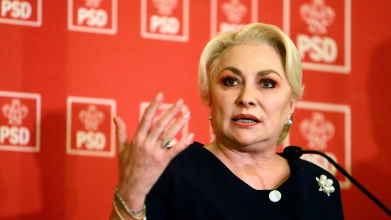 Viorica Dancila: E periculos ca tocmai presedintele este cel care cere caderea guvernului