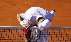 Lacrimile lui Novak Djokovic la Belgrad