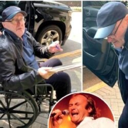 Phil Collins: de ce este cantaretul in scaun cu rotile?