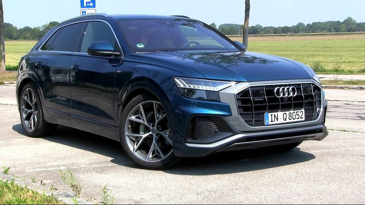 Test drive Audi Q8
